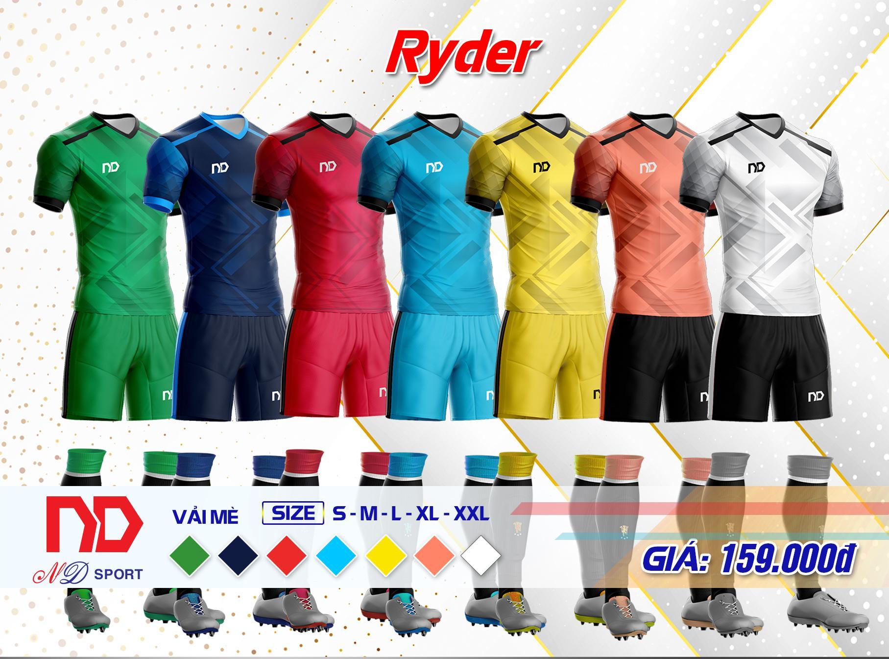 Bộ quần áo thể thao RYDER